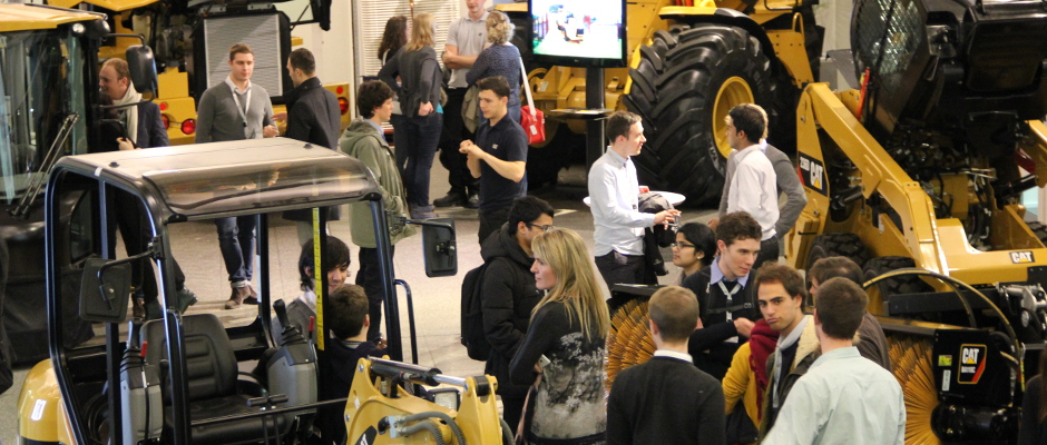 UNITECH student visit Caterpillar facility in Desford