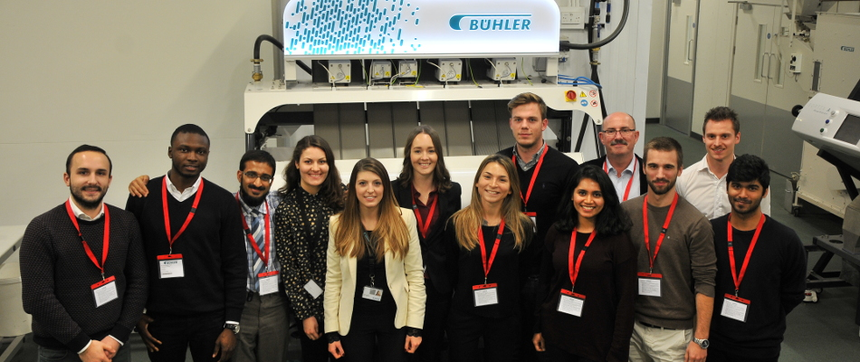 Buhler makes sorting high-tech and UNITECH got a front-row seat