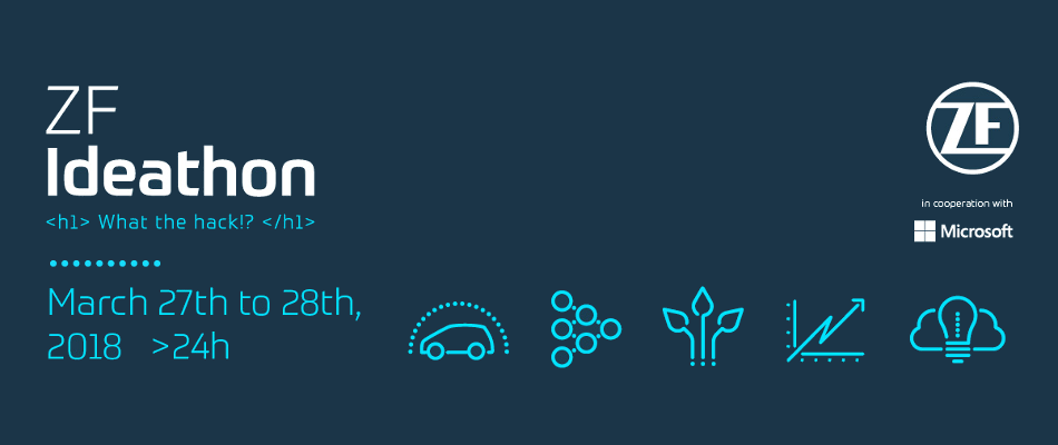 ZF Ideathon: Bring your ideas to life!