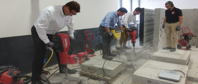 The UAA meets HILTI weekend event