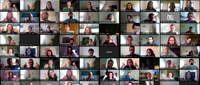 UAA Symposium went virtual, and it was the largest ever!