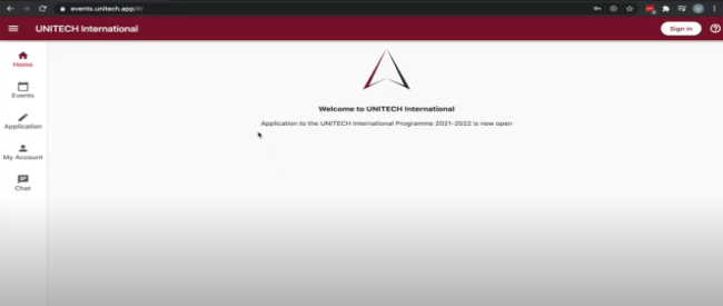 UNITECH platform video tutorial